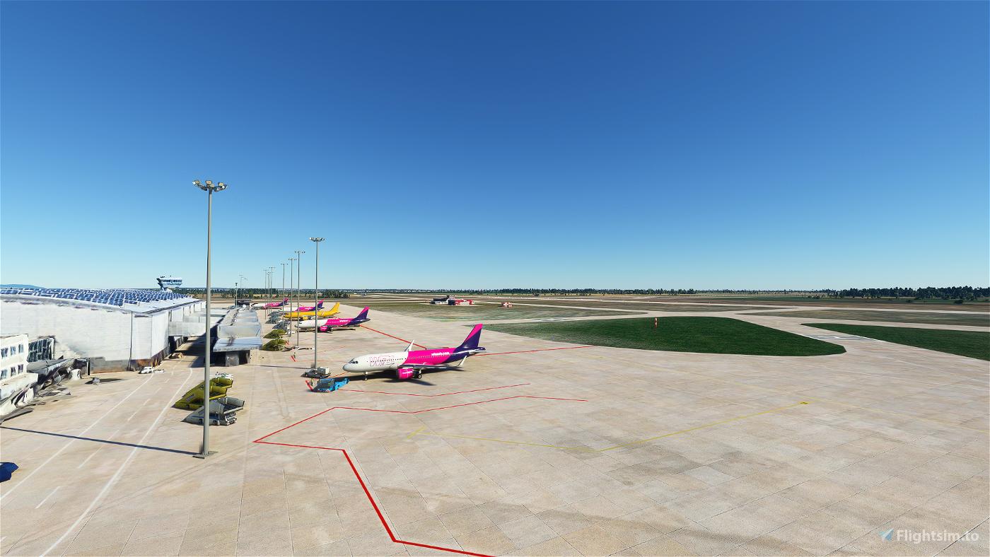 LZIB Bratislava M.R. Stefanik airport Image Flight Simulator 2020