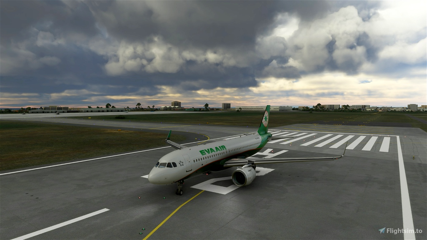 EVA Airlines New Pattern