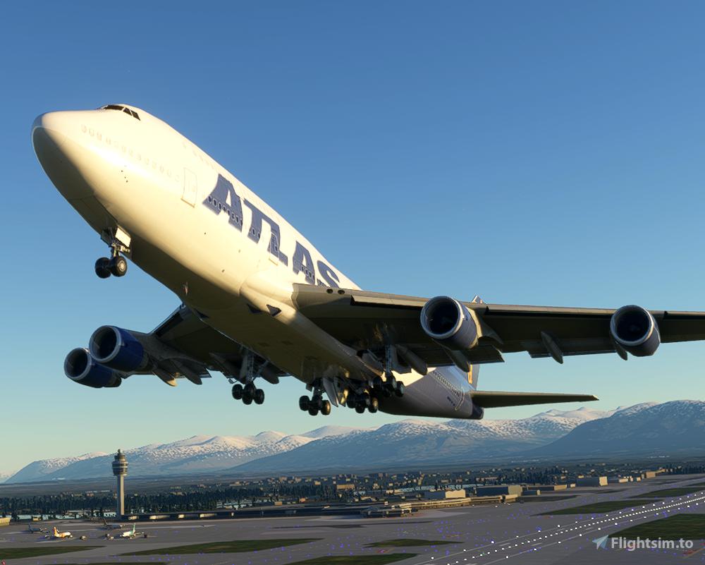 Atlas Air 747-400 (Canadian Mods)