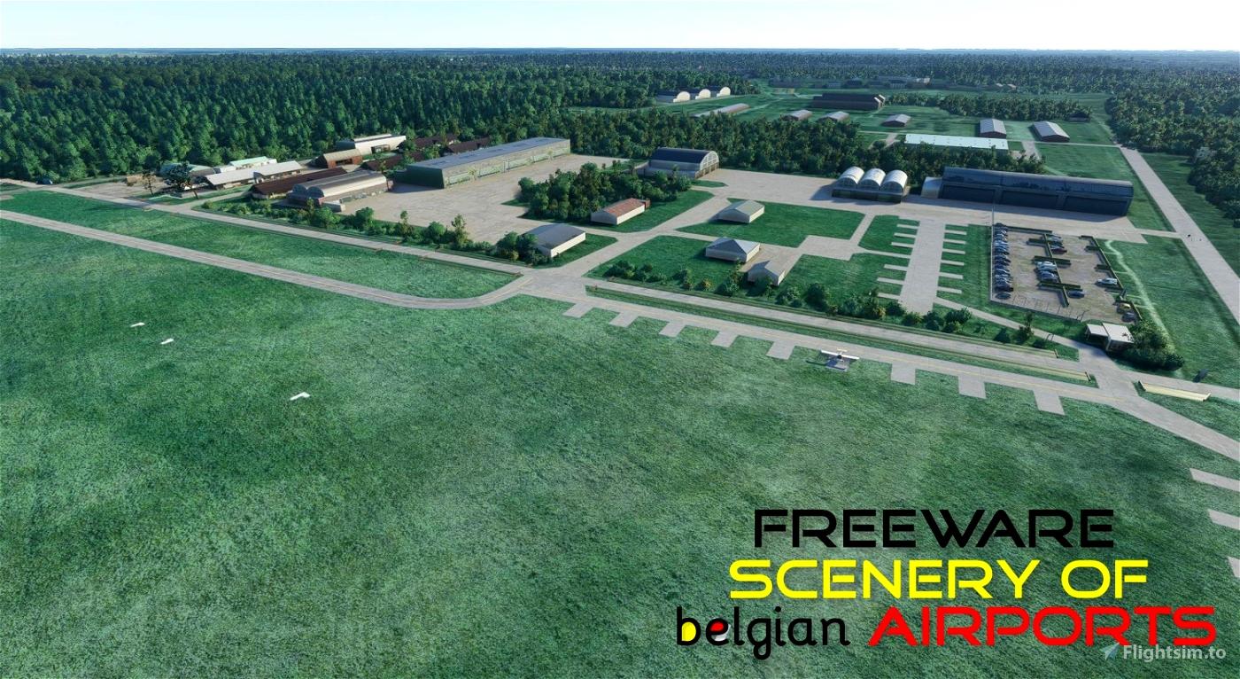 EBBT Brasschaat airfield, Belgium