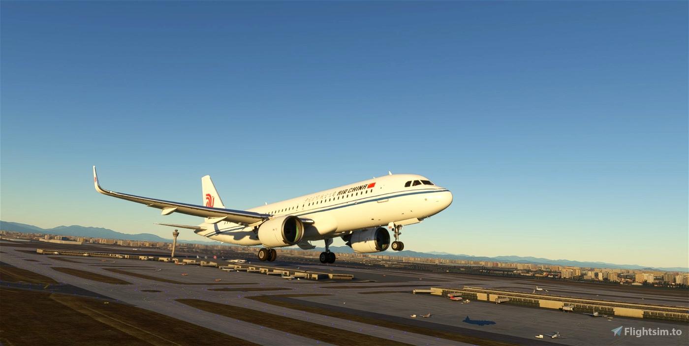 4k Air China A320neo