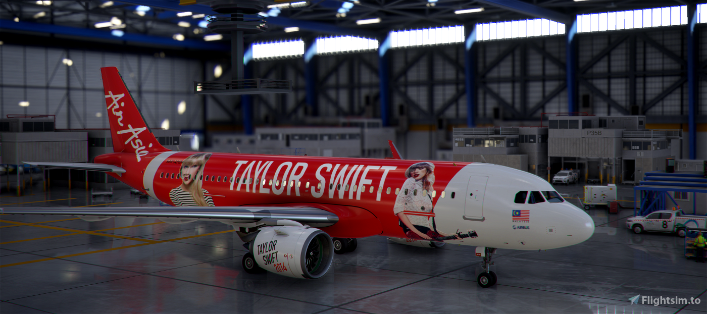 Airbus A320 Air Asia 'Red' (The Swiftbus...)