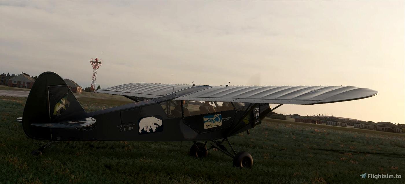 Savage Cub C-KJRK Poste-de-la-Baleine v2.0 (Compatible 1.12.13.0) Flight Simulator 2020