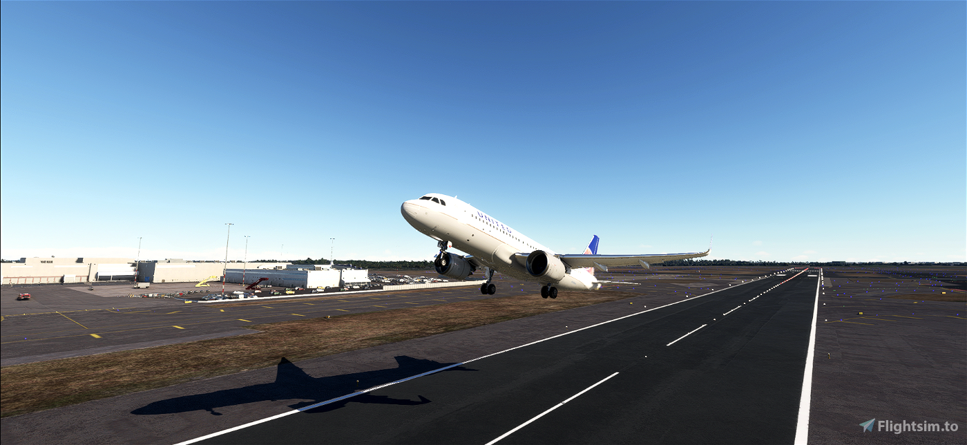 United Airlines A320neo 8K Textures