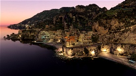 Italy - Amalfi Microsoft Flight Simulator