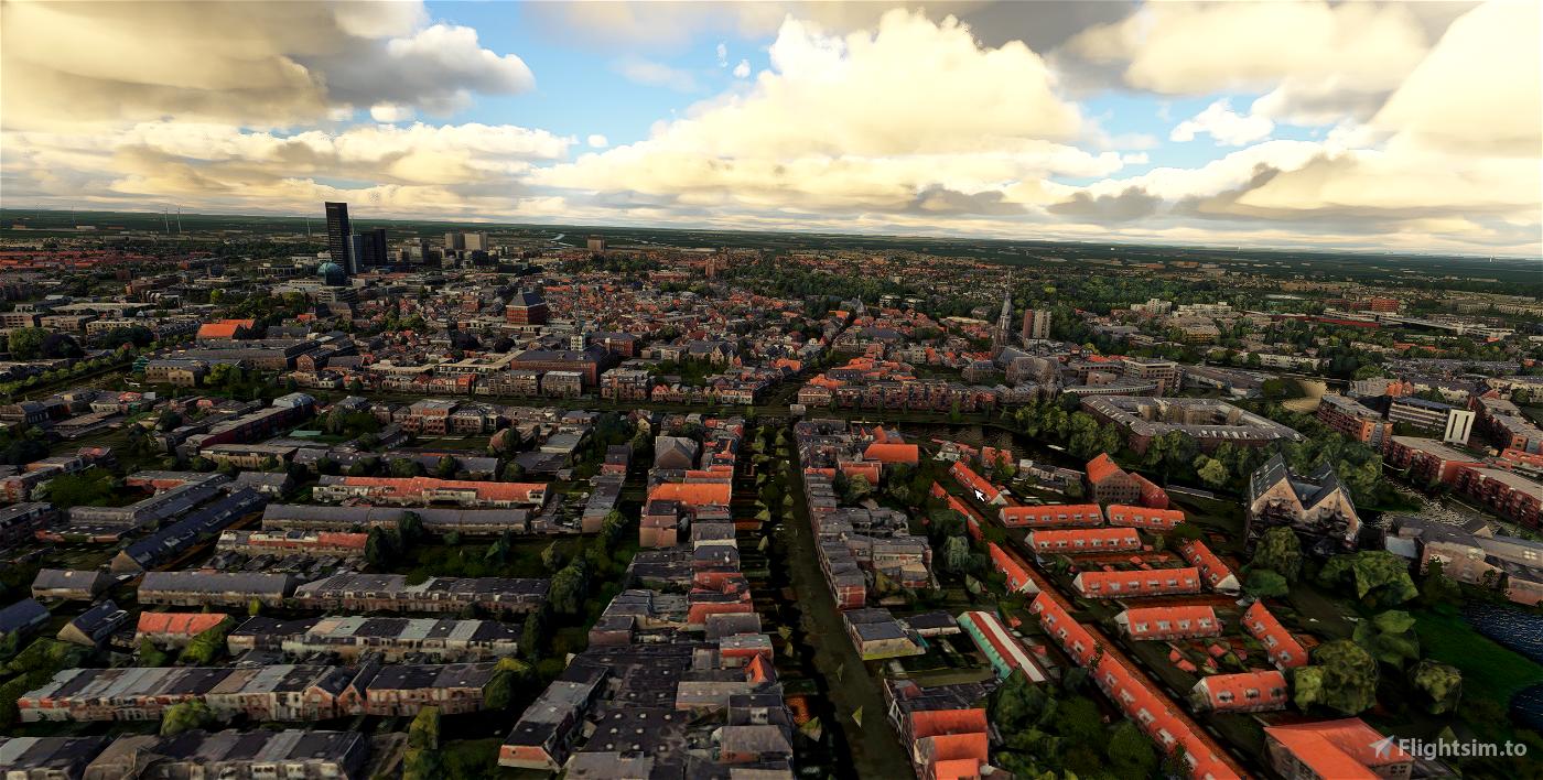 Leeuwarden - City Image Flight Simulator 2020