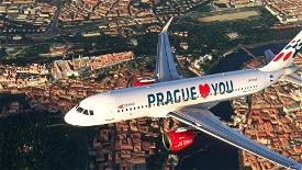 A320 NEO (Czech)Travelservice LovePrague Image Flight Simulator 2020