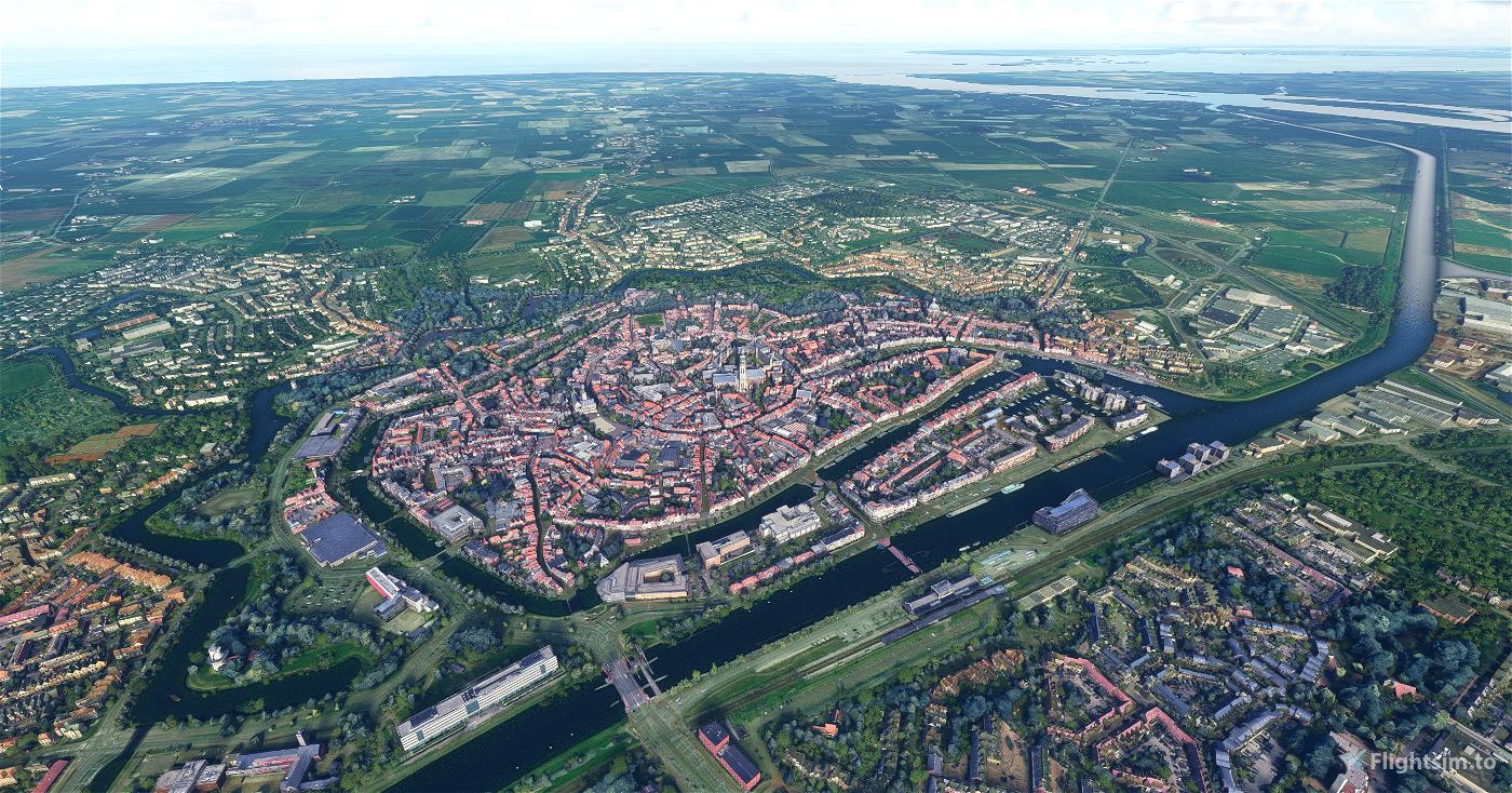 Middelburg - City Image Flight Simulator 2020
