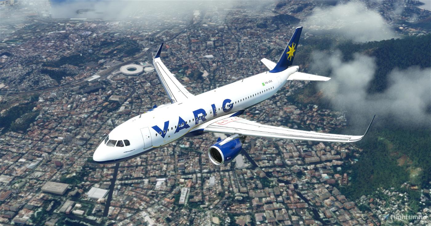 A320 Neo Varig 2004 (Fictional) Flight Simulator 2020