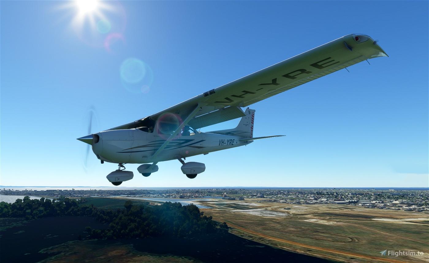 C172 Redcliffe Aero Club Qld Australia G1000 Flight Simulator 2020