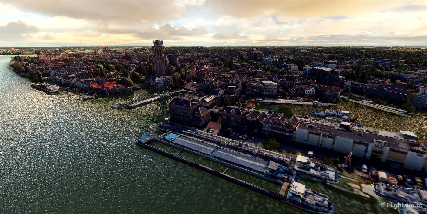 Dordrecht - City Image Flight Simulator 2020