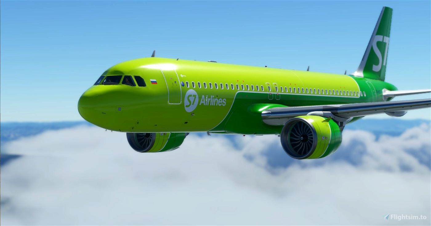 A320 S7  Flight Simulator 2020