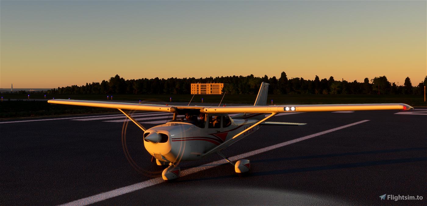 Alouette Flying Club C172 G1000 Flight Simulator 2020