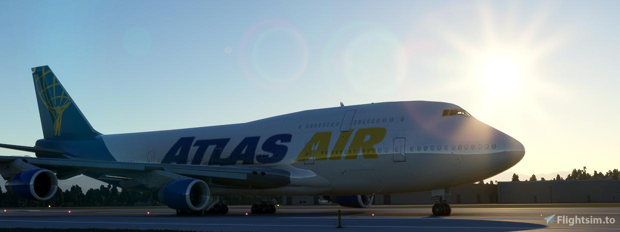 Atlas Air 747-400 (Canadian Mods) Flight Simulator 2020