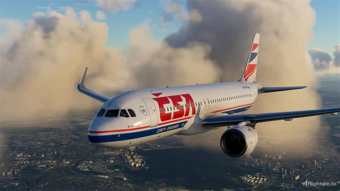 A320 NEO ČSA (Czech Airlines) Old (Year 2009) Flight Simulator 2020