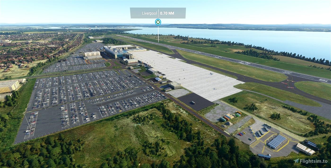 EGGP - Liverpool John Lennon Airport - Upgrade Microsoft Flight Simulator