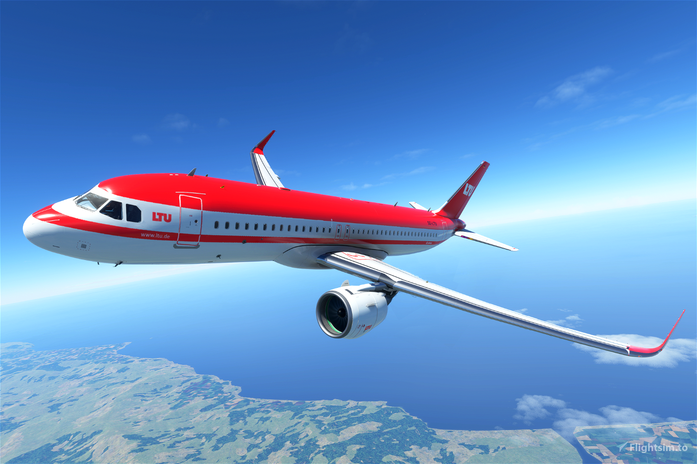 Airbus A320neo LTU (Red Roof livery) Flight Simulator 2020
