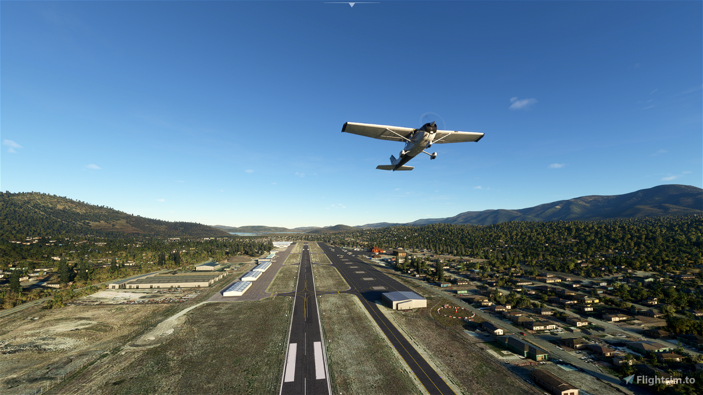 L35 Big Bear Airport Flight Simulator 2020