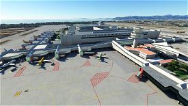 LEPA - Palma de Mallorca Airport [real ground] Microsoft Flight Simulator