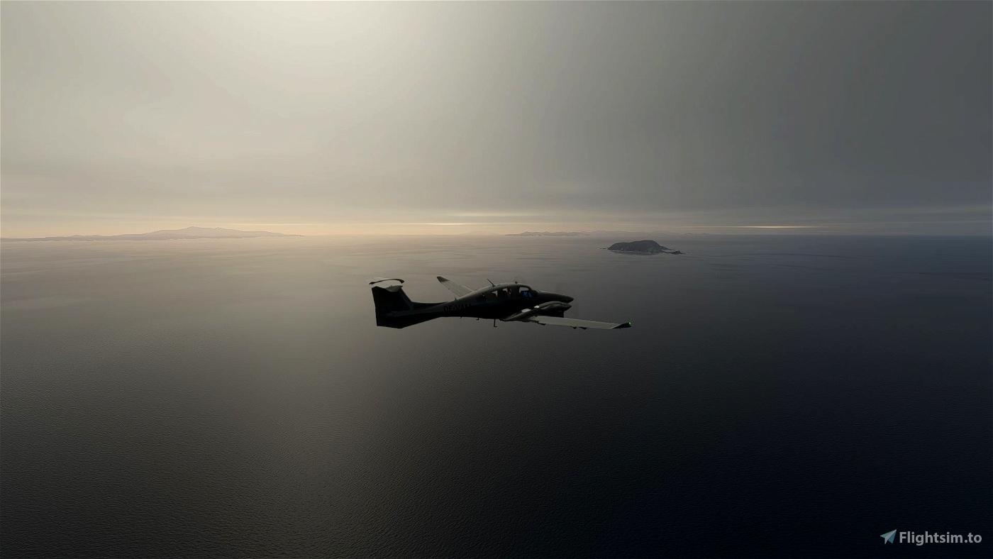 DA62 MPP Gray Liveries Flight Simulator 2020