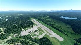 Talkeetna Airport, Alaska (PATK) Microsoft Flight Simulator