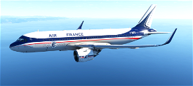 A320neo 90th AIR FRANCE Anniversary Image Flight Simulator 2020