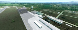 Bowers Field, Ellensburg WA USA - KELN V1.12 Image Flight Simulator 2020