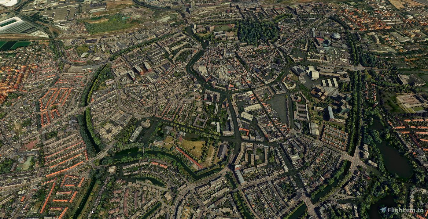 Breda - City Image Flight Simulator 2020