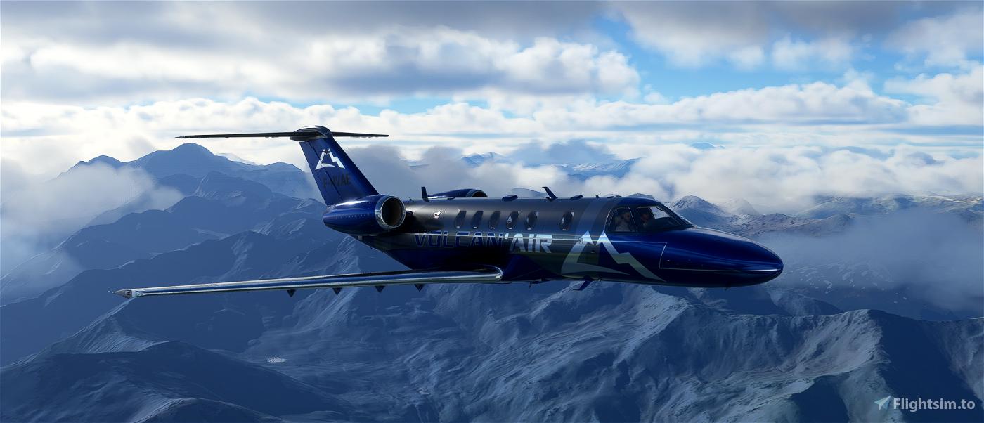 VOLCAN AIR CITATION CJ4 Flight Simulator 2020
