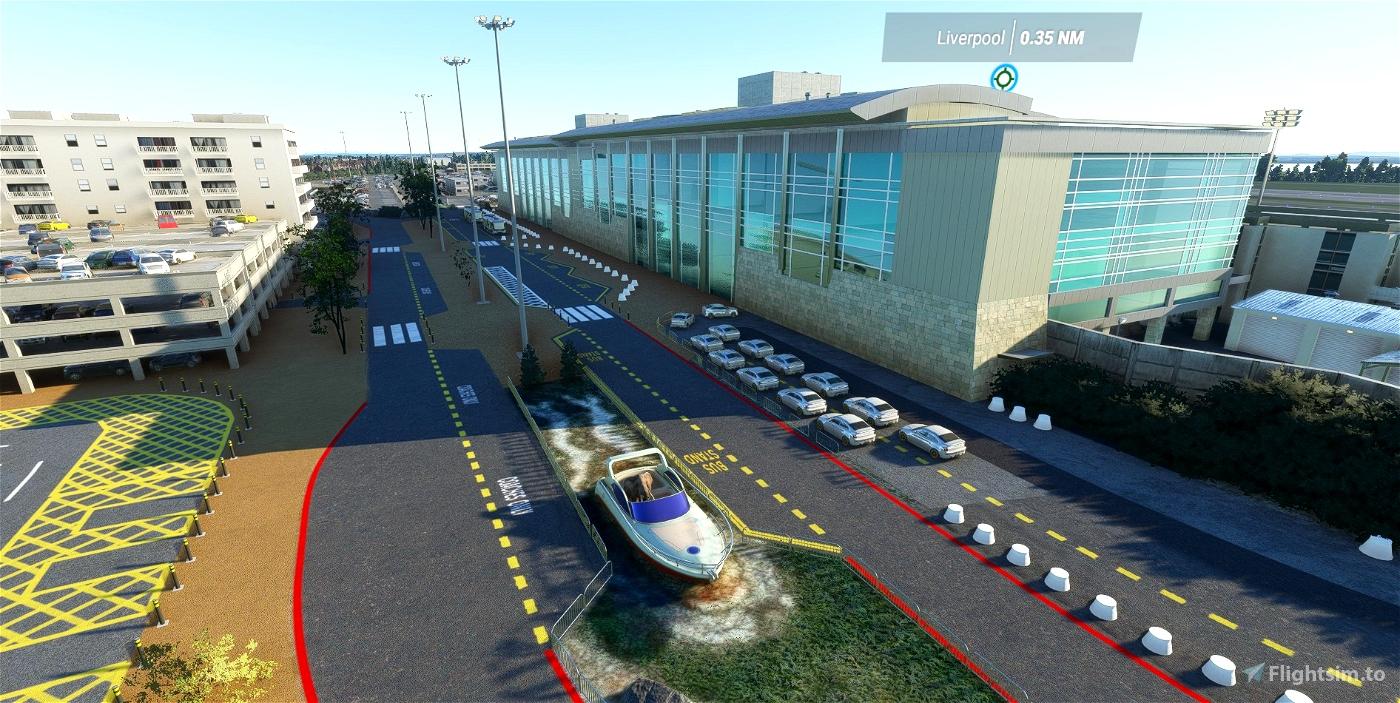 EGGP - Liverpool John Lennon Airport - Upgrade