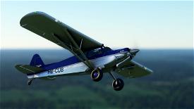 X-Cub Classic Design Midnight Blue Image Flight Simulator 2020