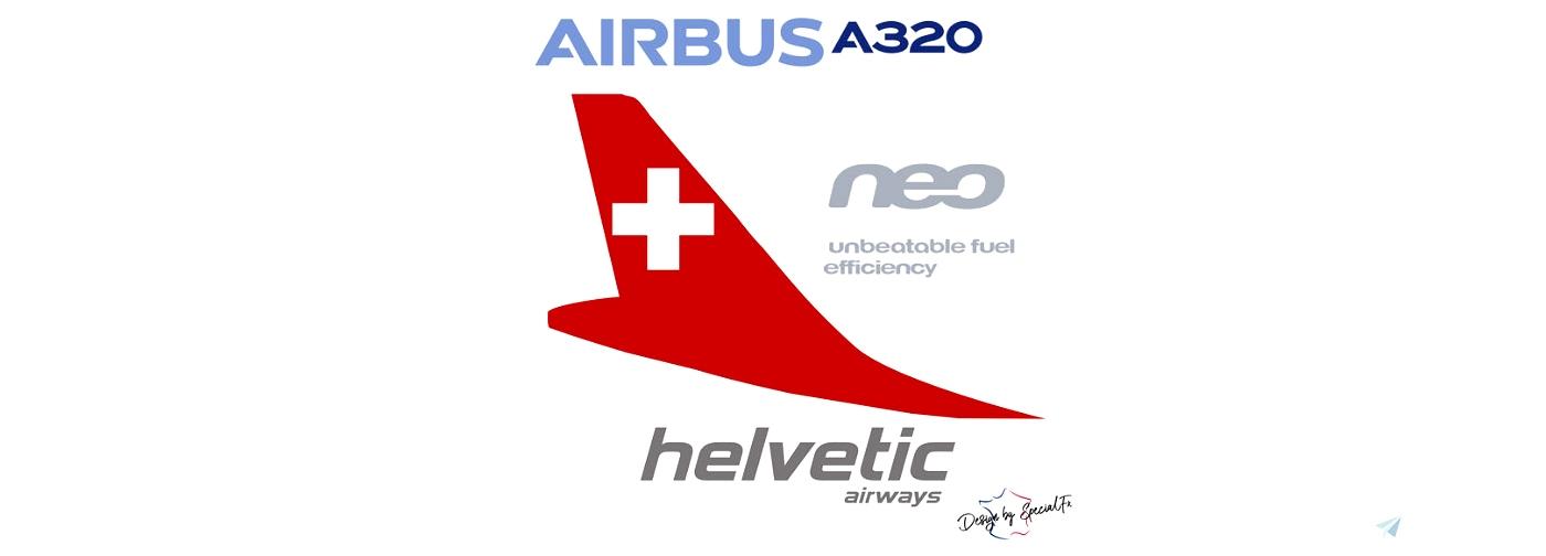 A320neo HELVETIC AIRWAY