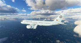 A320 Belgian Air Force (Belgium) Image Flight Simulator 2020
