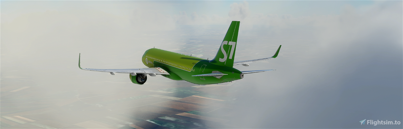 A320neo S7 Airlines