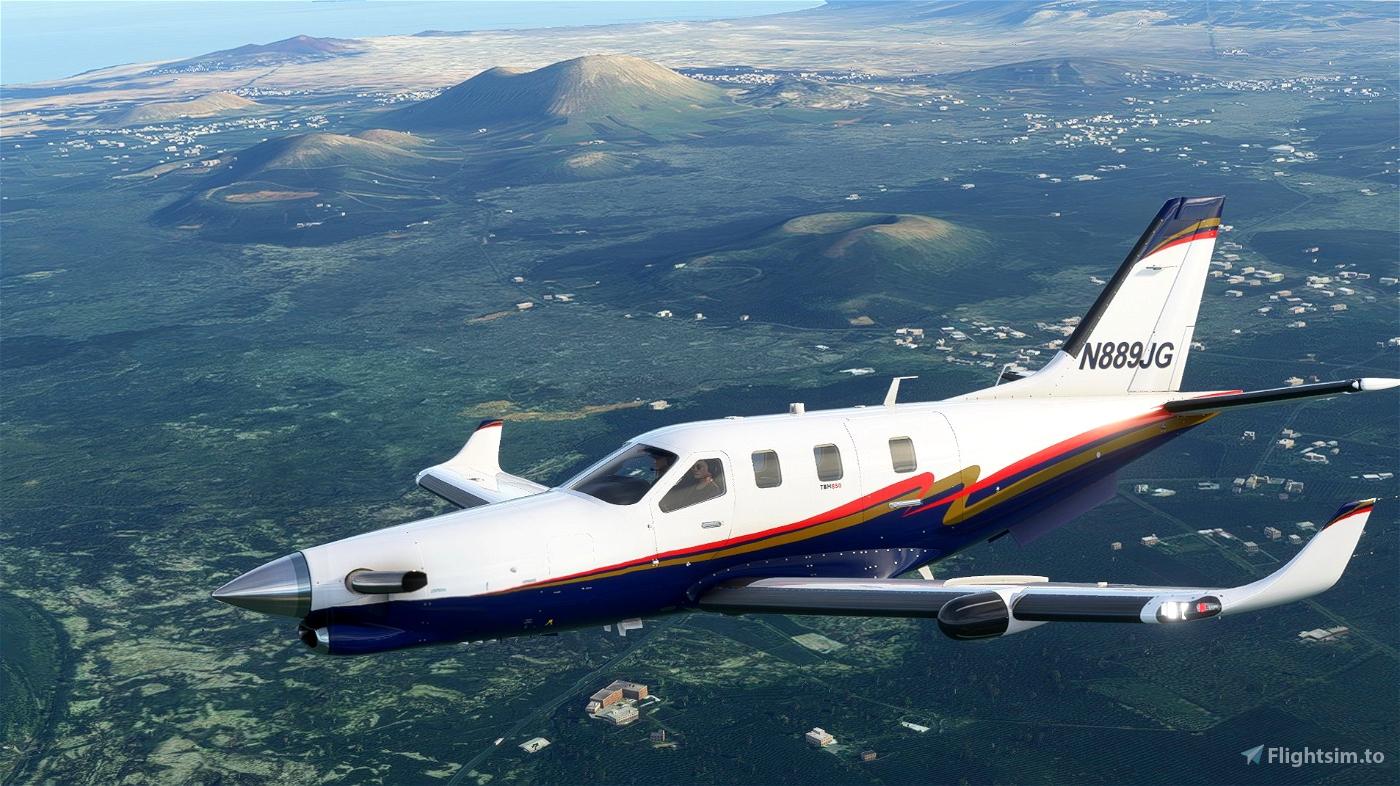 Daher TBM N889JG Flight Simulator 2020