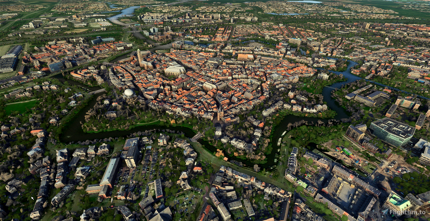 Zwolle - City Image Flight Simulator 2020