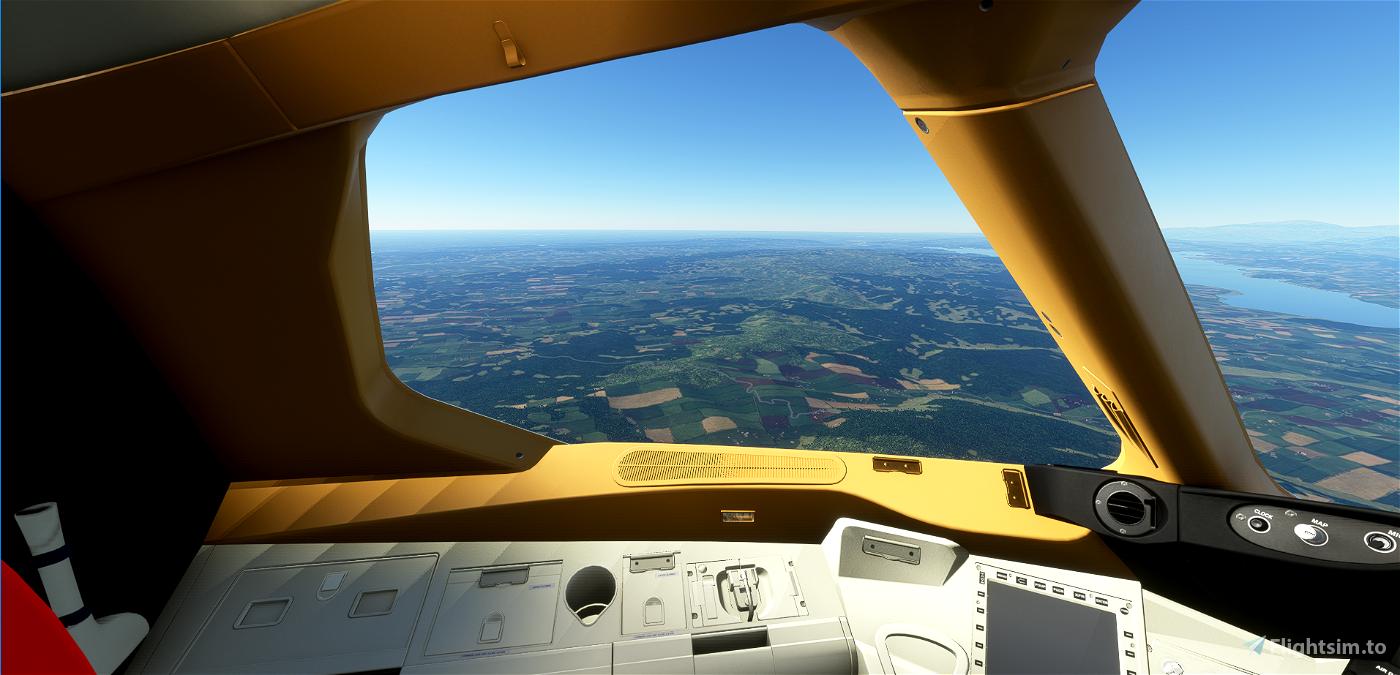Custom Cockipt Colours Boeing 787 Flight Simulator 2020