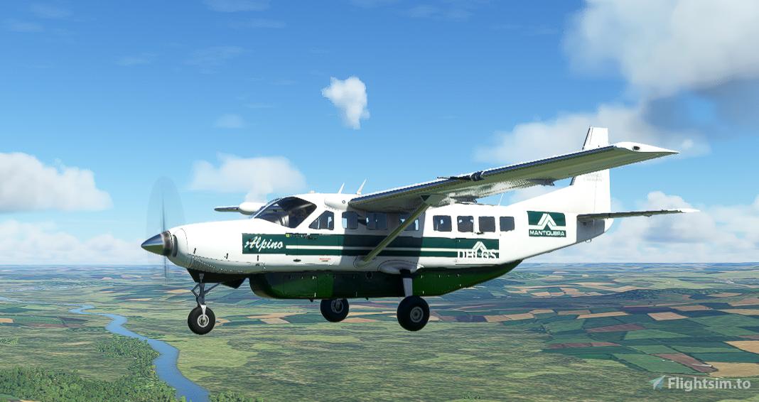 Cessna 208B Grand Caravan EX MANTIQUEIRA Livery Flight Simulator 2020