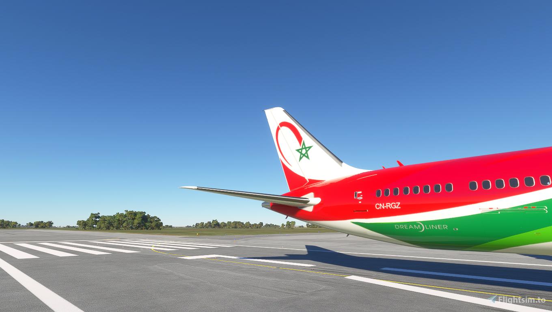 Boeing 787-10 Royal Air Maroc CN-RGZ