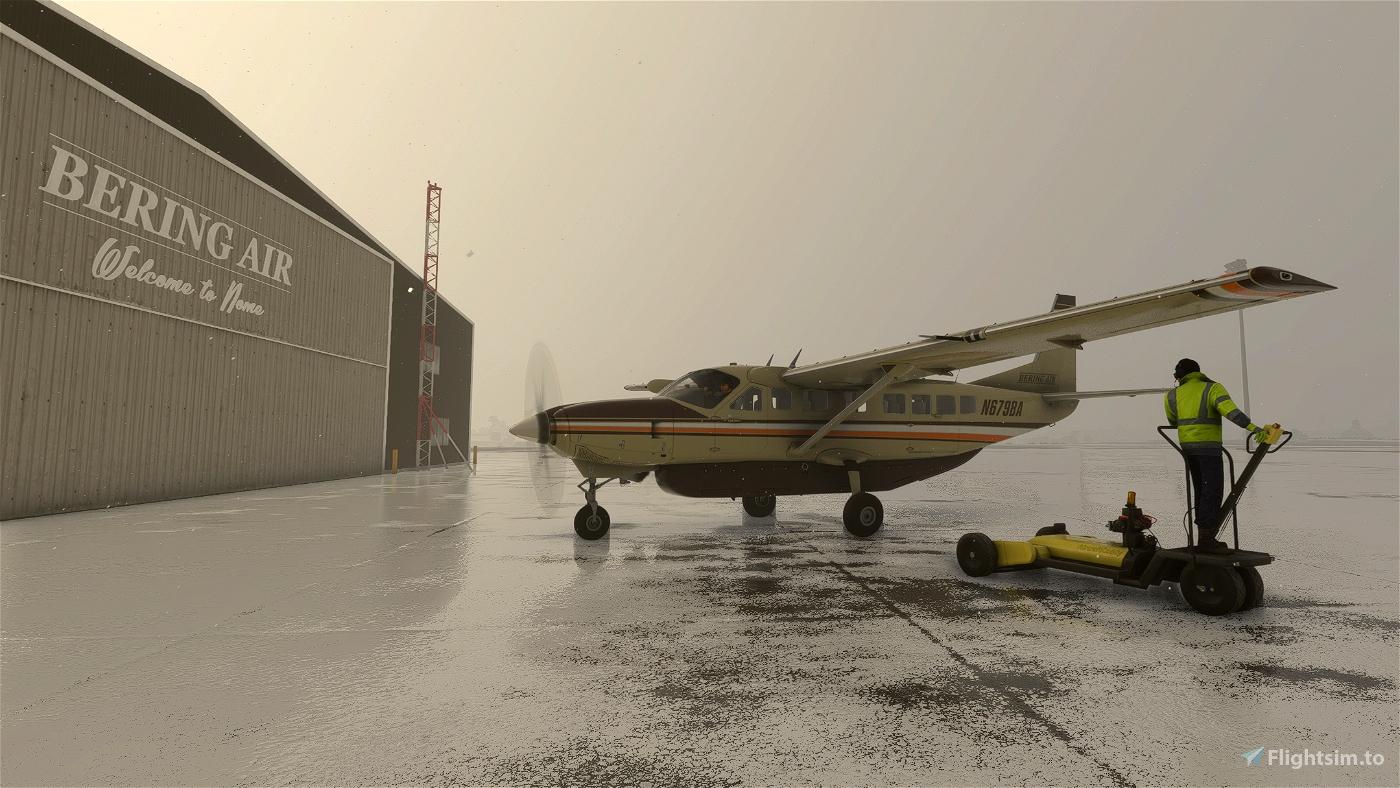 Cessna 208B Bering Air N679BA
