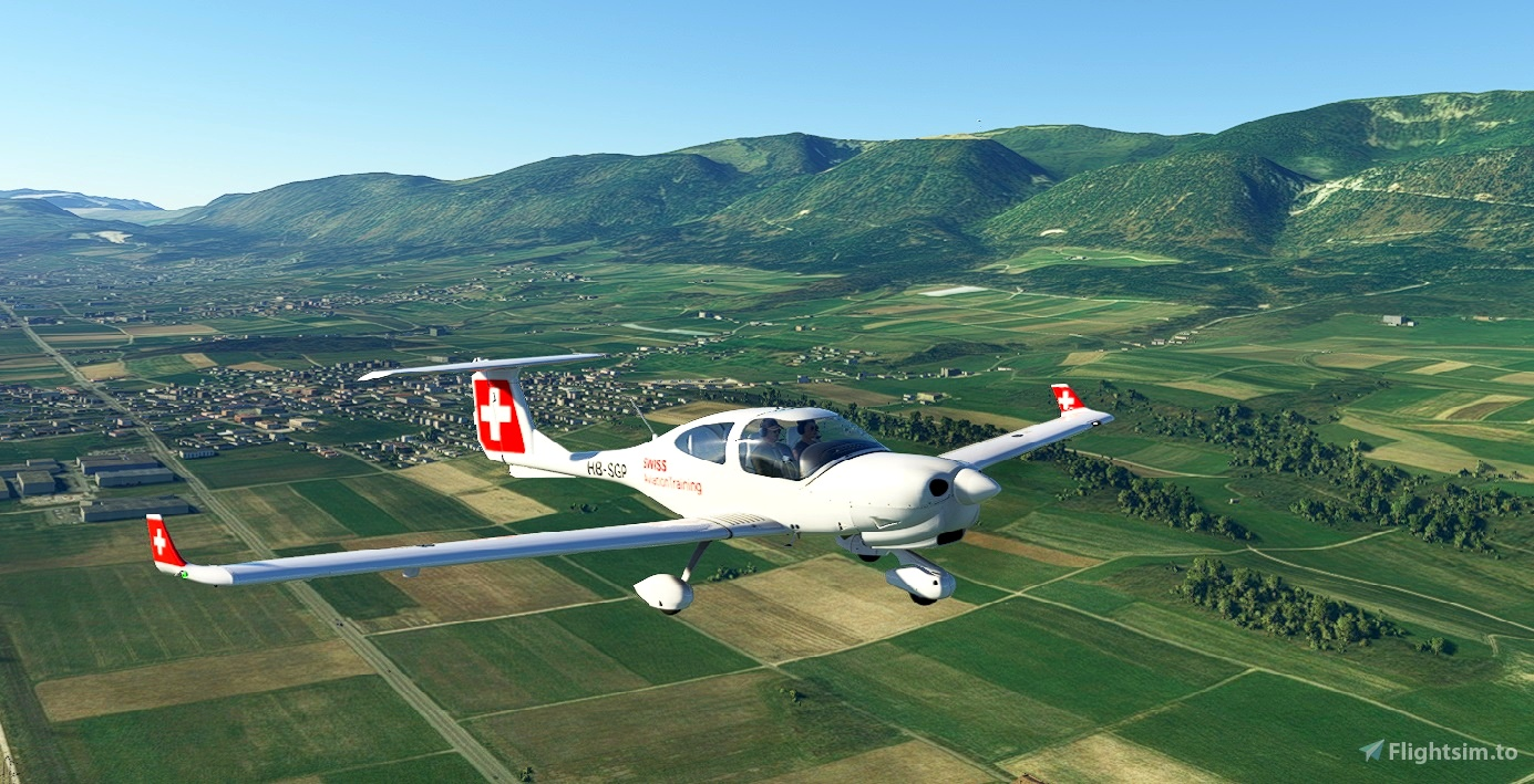 DA40NG Swiss Aviation Training
