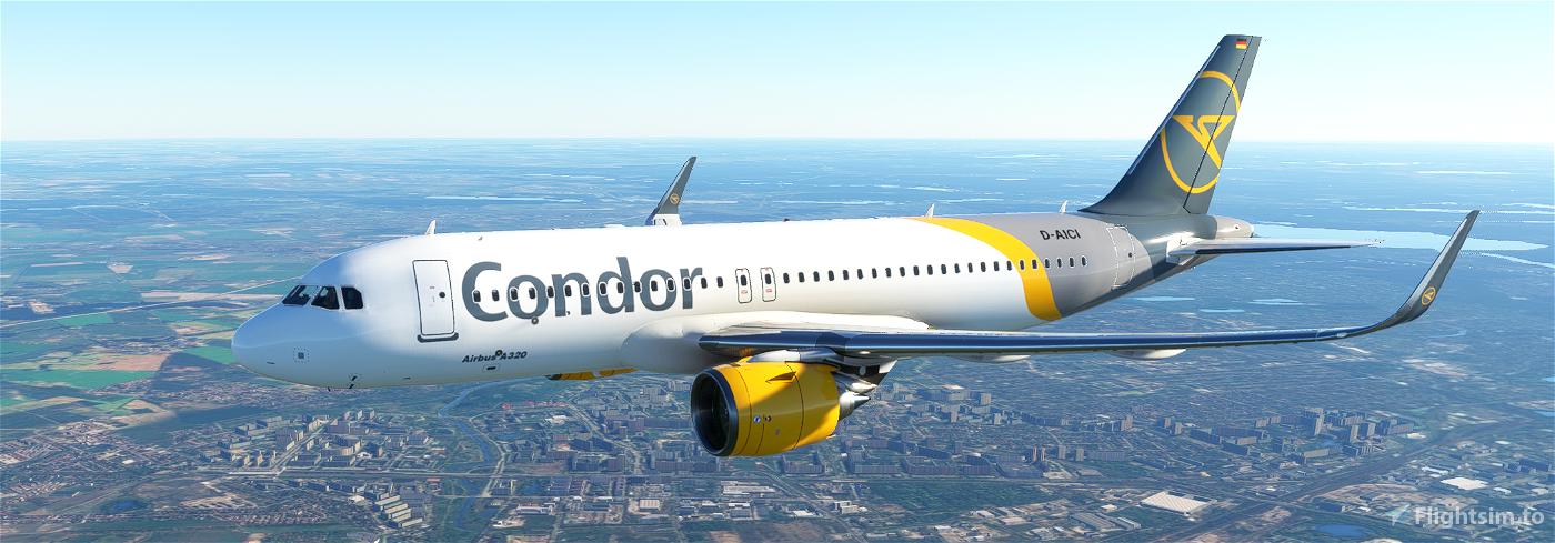 A320neo CONDOR Flight Simulator 2020