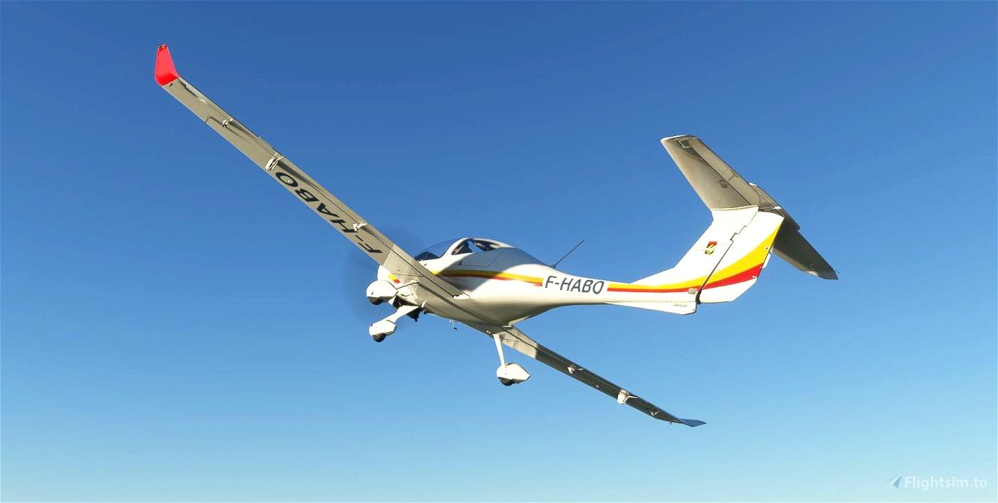 Aero-Club Rossi-Levallois Liveries for DA40 TDI