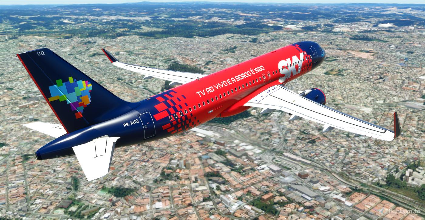 AZUL A320 8K (Sky)