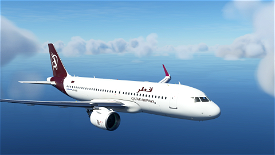 A320neo Qatar Airways (90s Livery) [8K] Image Flight Simulator 2020