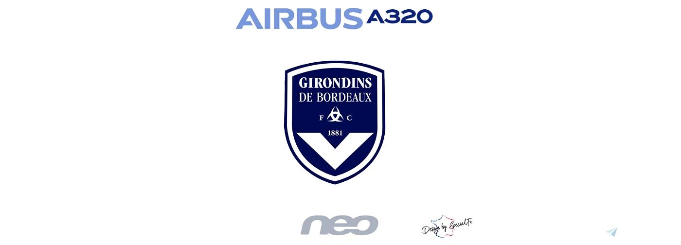 A320neo Football Club Girondins de Bordeaux