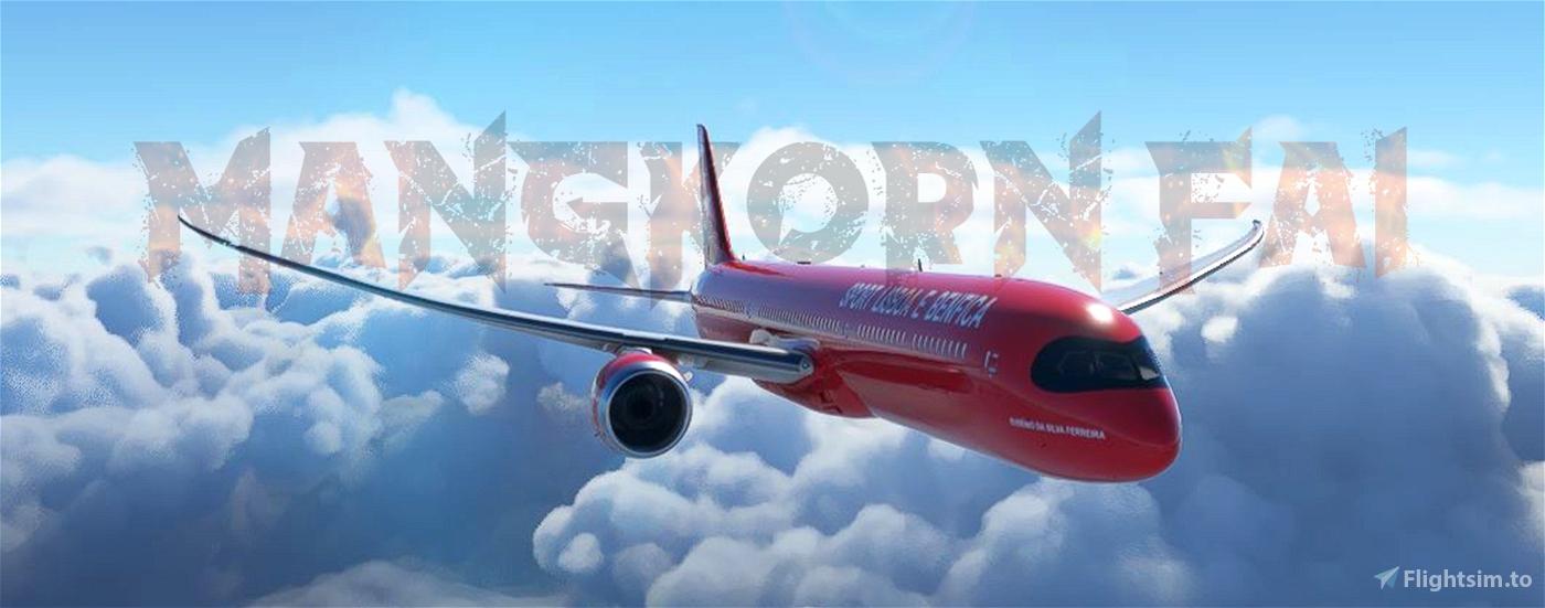 BENFICA 787-10 (fictional) Flight Simulator 2020