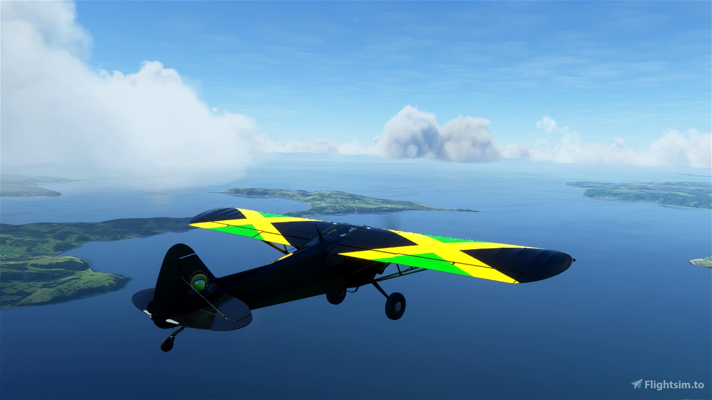 X-Cub Jamaica Swiss (Movement) Flight Simulator 2020
