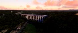 Aqueduc de Roquefavour Image Flight Simulator 2020