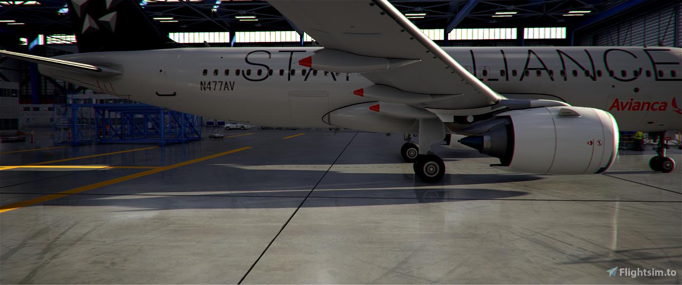 [4K] A320neo Avianca Star Alliance (N477AV)